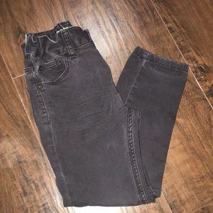 H&M black wash stretch toddler boy skinny's